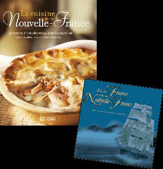 Livre de recette Nouvelle France